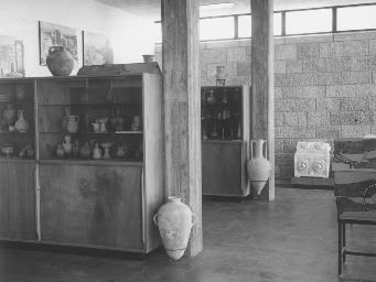 The Archaeological Collections Hall, Givat Ram Campus (1960's), (photo David Harris).