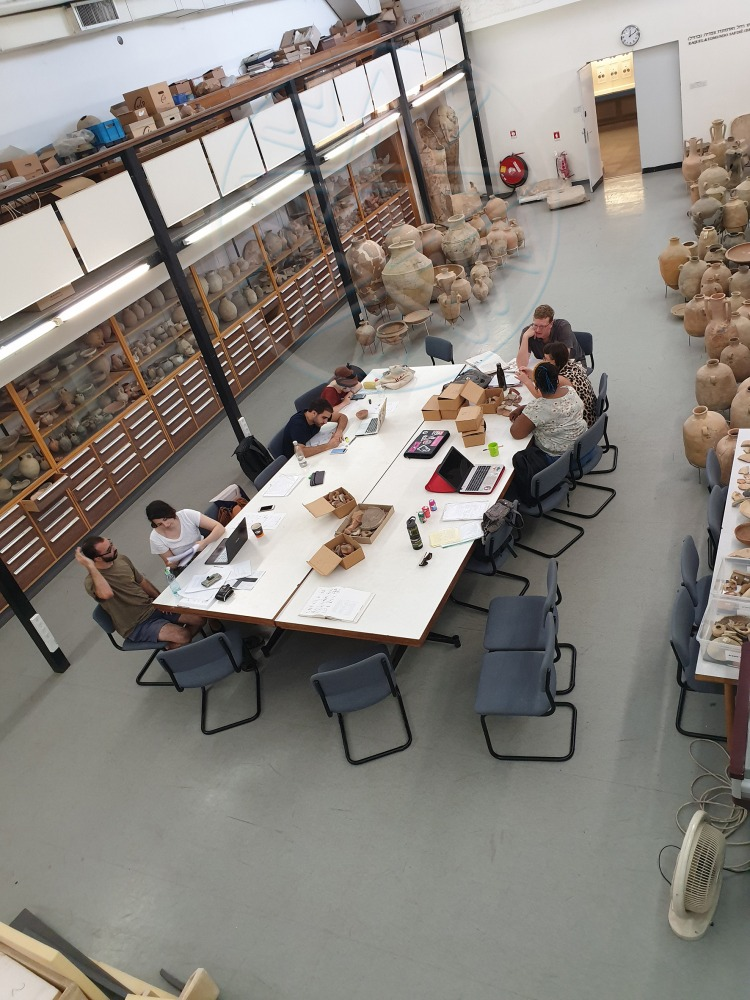 The Archaeological Collections Hall (photo by Daphna Tsoran)